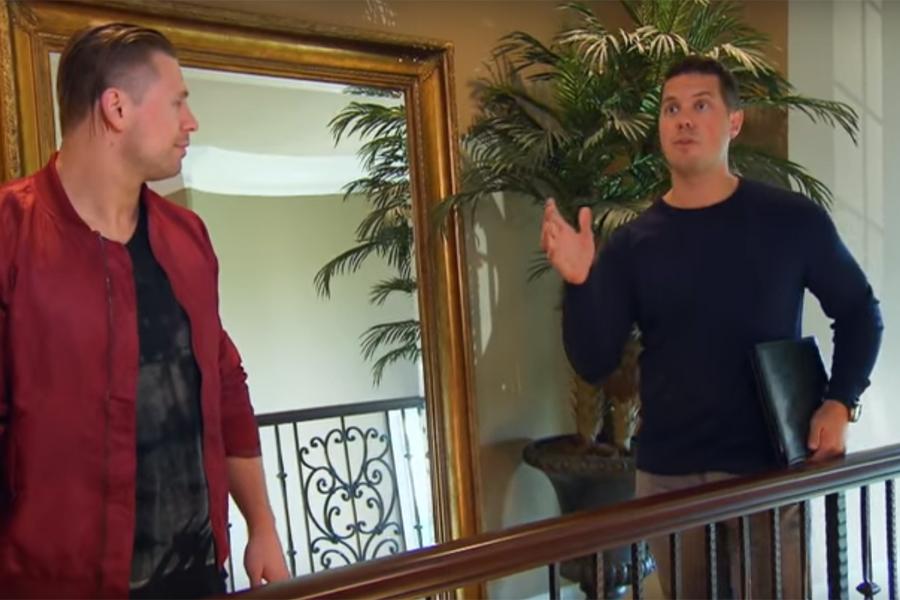 Mark Vittardi Shows House to WWE's Miz and Maryse